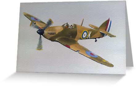 Hawker Hurricane - WWII Fighter Plane by Ian Morton