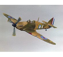 Hawker Hurricane - WWII Fighter Plane Photographic Print