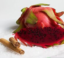 Dragon fruit by Rebecca Claire Edwards