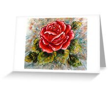 A Summer Rose Greeting Card