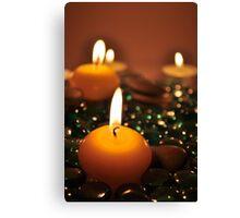 Romantic Candles Canvas Print