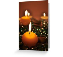 Romantic Candles Greeting Card