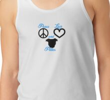 Peace Love and Pitties Tank Top