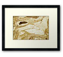 marvel @ the marble Framed Print