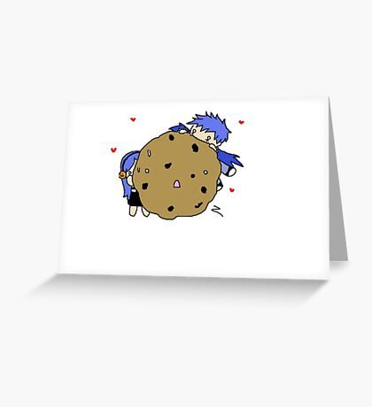 Cookie noms Greeting Card