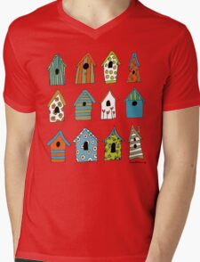 bird houses Mens V-Neck T-Shirt