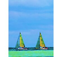 Double Sails Photographic Print
