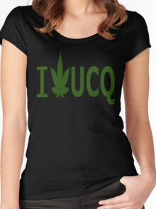 I Love UCQ Women's Fitted Scoop T-Shirt