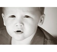 The Most Photographed Child in the world Photographic Print