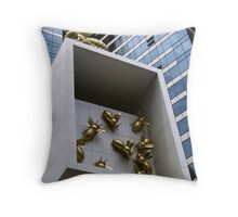 monster bee's Throw Pillow