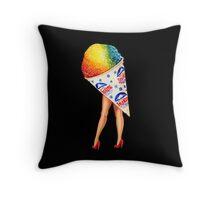My Fair Ladies- Snow Cone Throw Pillow