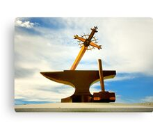 Sword, Anvil & Hammer Canvas Print