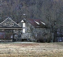 Andrew Wyeth Home by Gordon  Beck