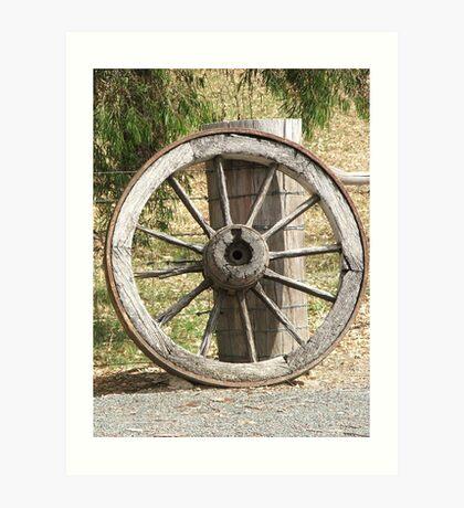 Wagon Wheel Art Print