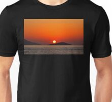 Dodecanese sunset Unisex T-Shirt