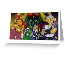 Furry Zelda Greeting Card