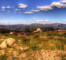 Mountain High - Mount Sterling, Alpine National Park - The HDR Experience by Philip Johnson