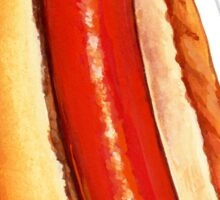Hot Dog Pattern Sticker