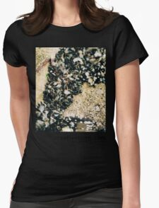 Bacton Beach, Norfolk Womens Fitted T-Shirt