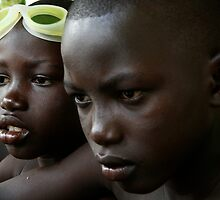 Gambian kids, by Jip v K