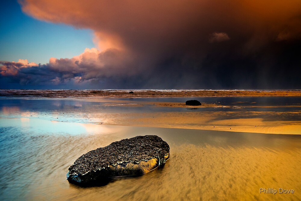 Approaching Storm by Phillip Dove