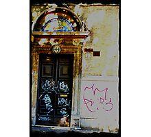 Graffiti on Faith Photographic Print