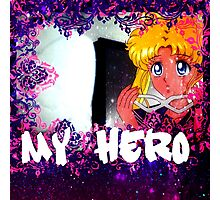 sailor moon my hero  Photographic Print