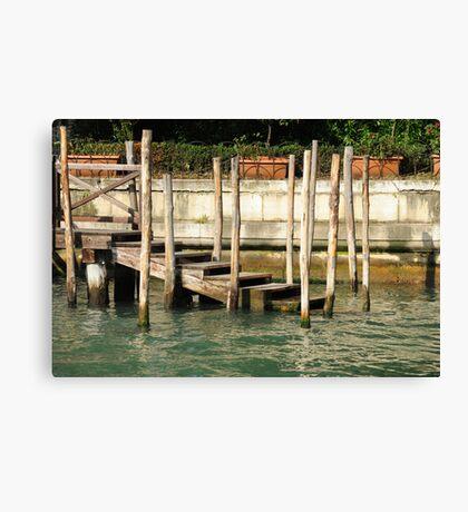 Traghetto Stop Canvas Print