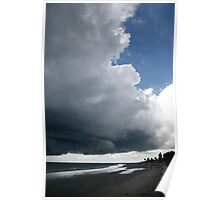Storm above the sea, Poster