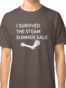 I Survived The Steam Summer Sale  Classic T-Shirt