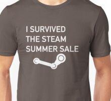 I Survived The Steam Summer Sale  Unisex T-Shirt
