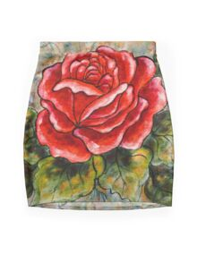 A Summer Rose Mini Skirt