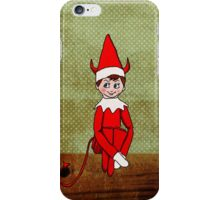 Mischief on The Mantle iPhone Case/Skin