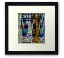 Colour Wave-Available In Art Prints-Mugs,Cases,Duvets,T Shirts,Stickers,etc Framed Print