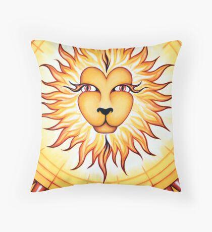 Leo  - shine your light into the world! Throw Pillow