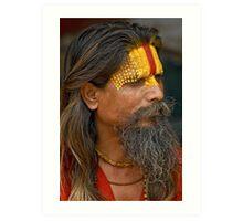 Sadhu (Holy man) Art Print
