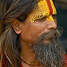 Sadhu (Holy man) by Konstantinos Arvanitopoulos