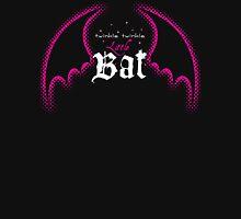 Twinkle Twinkle Little Bat (Dark Background) Womens Fitted T-Shirt