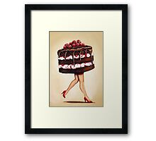 Cake Walk Framed Print