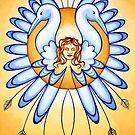 Virgo - spread your wings, fly the skies! by Sarah Jane Bingham