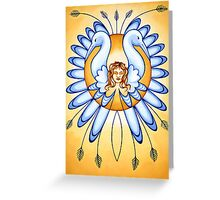 Virgo - spread your wings, fly the skies! Greeting Card