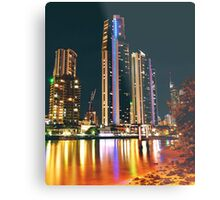SURFERS PARADISE CITY Metal Print