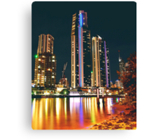 SURFERS PARADISE CITY Canvas Print