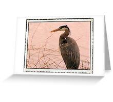 Heron Dreams: Greeting Card