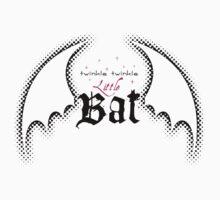 Twinkle Twinkle Little Bat (Light Background)  by Jennifer Doneske
