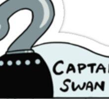 Captain Swan patterns Sticker