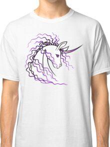 Ki-Rin (Japanese Unicorn) - Purple Classic T-Shirt