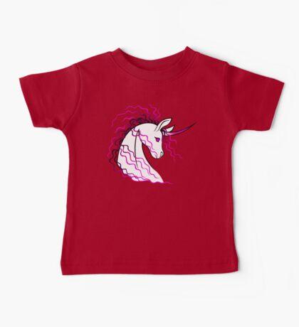 Ki-Rin (Japanese Unicorn) - Pink Baby Tee