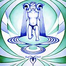 Aquarius - Let your cups fill oceans. by Sarah Jane Bingham
