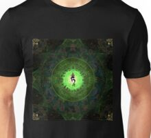 Green Tara Mantra- Protection from dangers and suffering. Unisex T-Shirt